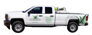 WL Spraying and Landscaping, Inc. Truck